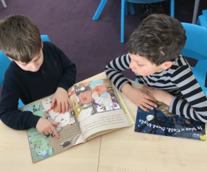 World book week boys sharing yr 1 and 2 SET